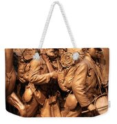 Saint Gaudens -- The Shaw Memorial's Right Side Weekender Tote Bag