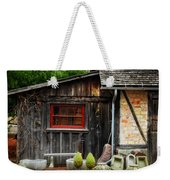 The Shed At Monches Farm Weekender Tote Bag by Mary Machare