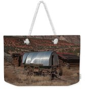 The Sheep Wagon Weekender Tote Bag
