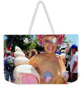 The Shell Queen Weekender Tote Bag