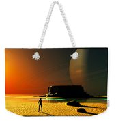 The Shore Of The Cupric Seas... Weekender Tote Bag