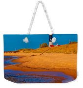 The Shore To Big Sable Weekender Tote Bag