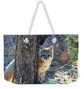 The Shy Fox Weekender Tote Bag