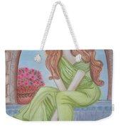 The Sibyl - Grecian Goddess Weekender Tote Bag