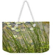The Side Of The Lily Pond Weekender Tote Bag