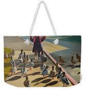The Sidewalk Religion Weekender Tote Bag