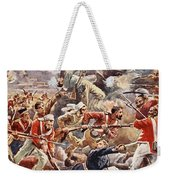 The Siege Of Delhi, 1857 Storming Weekender Tote Bag