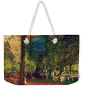 The Sign Of Fall Colors Weekender Tote Bag