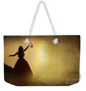 The Lady With The Lamp Weekender Tote Bag