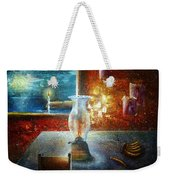 The Silence Of The Hills Weekender Tote Bag