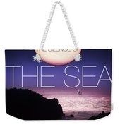 The Silence Of The Sea Weekender Tote Bag