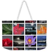 The Silence Of Time Weekender Tote Bag