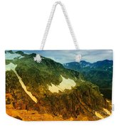 The Silent Mountains Weekender Tote Bag