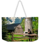 The Silo Horse Weekender Tote Bag