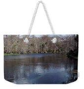 The Silver River Weekender Tote Bag