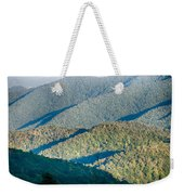 The Simple Layers Of The Smokies At Sunset - Smoky Mountain Nat. Weekender Tote Bag