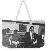 The Singer Weekender Tote Bag