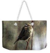 The Singing Sparrow Weekender Tote Bag