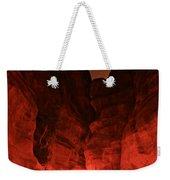 The Siq -- Petra Weekender Tote Bag