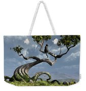 The Sitting Tree Weekender Tote Bag by Cynthia Decker