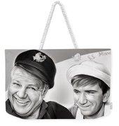 The Skipper And Gilligan Weekender Tote Bag