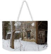 The Skis Weekender Tote Bag