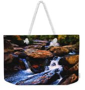 The Skull Waterfall Weekender Tote Bag