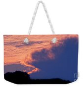 The Sky On Fire Weekender Tote Bag