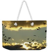 The Sky Opened Weekender Tote Bag