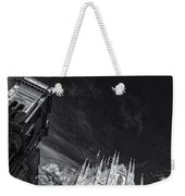 The Sky Over Cathedral Weekender Tote Bag