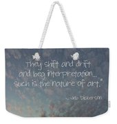 The Sky Weekender Tote Bag
