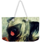 The Skye  Terrier Tilt   Weekender Tote Bag