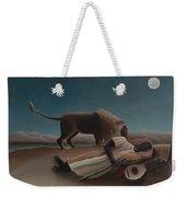 The Sleeping Gypsy Weekender Tote Bag
