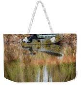The Small Boat Photoart II Weekender Tote Bag