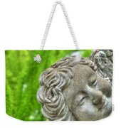 The Smiling Angel Buffalo Botanical Gardens Series Weekender Tote Bag