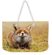 The Smiling Fox Weekender Tote Bag