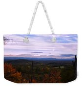 The Smokey Mountains From Hanging Rock State Park Weekender Tote Bag