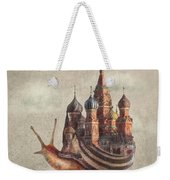 The Snail's Daydream Weekender Tote Bag