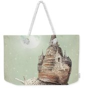The Snail's Dream Weekender Tote Bag