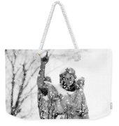The Snow Angel Weekender Tote Bag