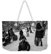 The Snowboarders Weekender Tote Bag