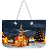 The Snowdens At Church Weekender Tote Bag