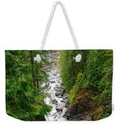The Snowqualmie River Weekender Tote Bag
