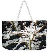 The Snowy Tree II Weekender Tote Bag