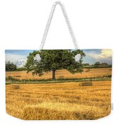 The Solitary Farm Tree Weekender Tote Bag