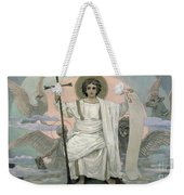The Son Of God   The Word Of God Weekender Tote Bag by Victor Mikhailovich Vasnetsov