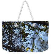 The Song Of Winter Weekender Tote Bag