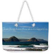 The Sound Of The Sea Weekender Tote Bag
