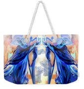 The Sounds Of Angels Weekender Tote Bag