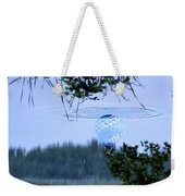 The Source Of Lake Ripples 01 Weekender Tote Bag